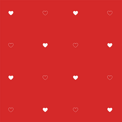 Free SVG background pattern of hearts. Download css easily and configure to your liking.